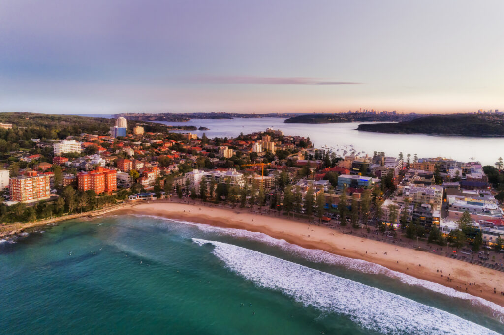 Northern Beaches Aerial View